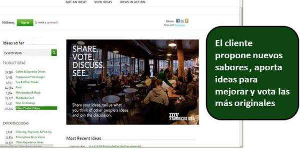 Starbucks, estrategia social media